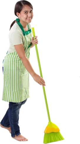 Maid job morning to evening 8 baje se 5 baje tak