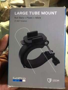 Gopro large tube mount
