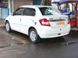 Swift Dzire ZDI diesel top model 2013 model in white colour