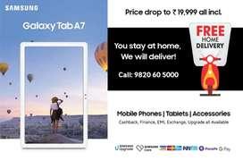 Samsung Galaxy Tab A7 26.31 cm (10.4 inch), Slim Metal Body LTE