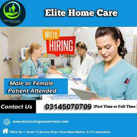 Need female Nurses