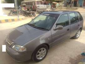 Suzuki Cultus on easy installment