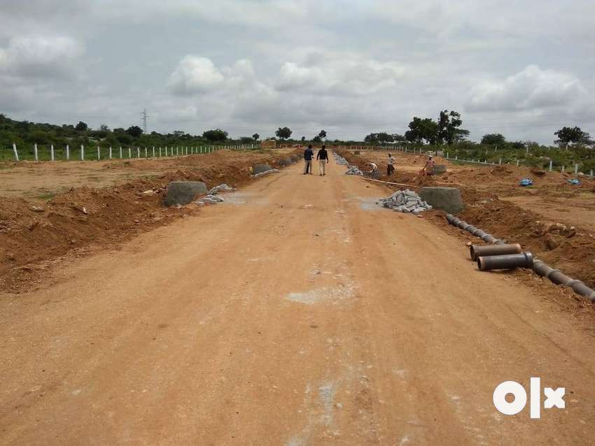 Open plots for sale at Bongolur near Adibatla 0
