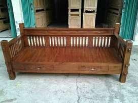 Bangku bale-bale furniture kayu jati mpb 011.