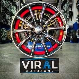 Velg Mobil Ring 16 Racing HSR Vuno Lebar 7 Avanza Yaris Jazz Brio DLL