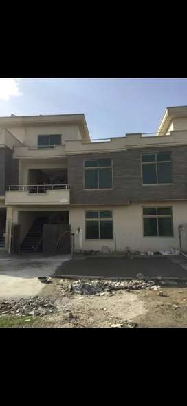 A beautiful house for sale brand new in ghori garden Islamabad