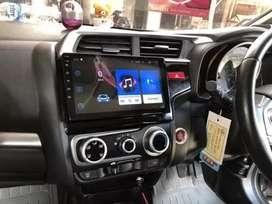 Dobledin android 9in buat Honda Jazz 1gb