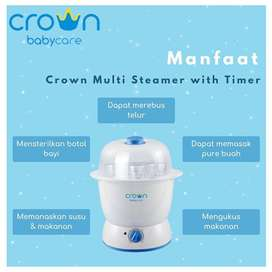 Crown Multi Steamer with Timer
