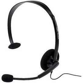 XBOX 360 Microsoft Headset Brand New Not in Used Boom microphone can b