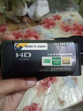 Sony handy cam, made in japan,with all original accessories