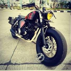 Yamaha Scorpio Modif Bobber Style