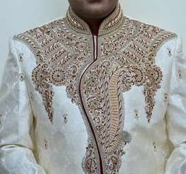 Wedding Sherwani From Mebaz (Brand By Meena Bazar)