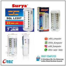 Rechargeable EMERGENCY LAMP Surya SQL L2207