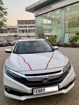 New HONDA CIVIC Car, Dec. 2020, showroom condition, Petrol, Top Model