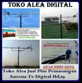 Jual paket pemasangan antena tv digital & jasa service antena parabola
