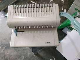 Mesin Jilid/ Binding Spiral Kawat dan Plastik