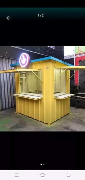 MURAH ! Booth dagang, gerobak dagang, gerobak jualan, booth jualan,