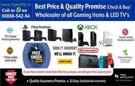 Wholesaler PS4, PS3,PS2,XBOX1/X/S/360,Nintendo,Gaming Titles & LED TVs