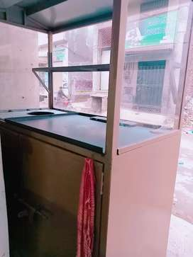 Barker shawarma counter 5/5 full new