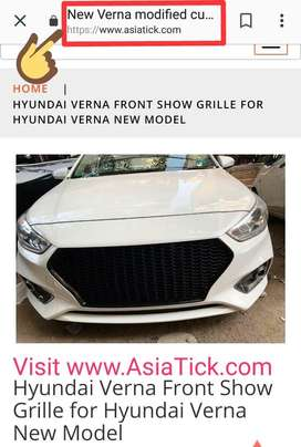 Verna front grill