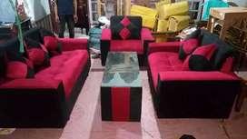 Sofa home made.