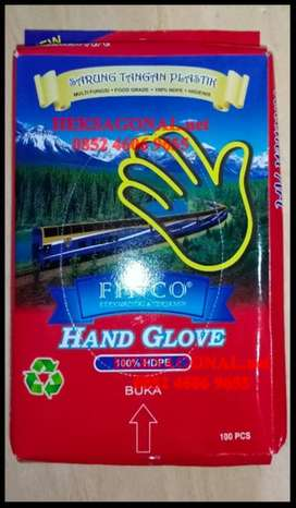 Sarung Tangan plastik sekali pakai BPN
