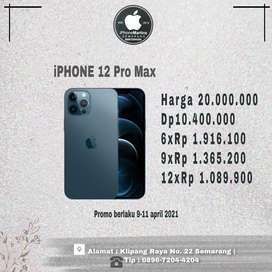 Iphone 12 pro max 128gb ibox promo week end kredit cepat