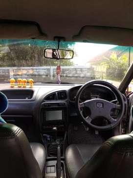 Mobil Baleno ,warna silver orsinil ,tahun 1997 ,pw,ps,,AC dingin,,,