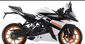 All new KTM RC 125 for rent