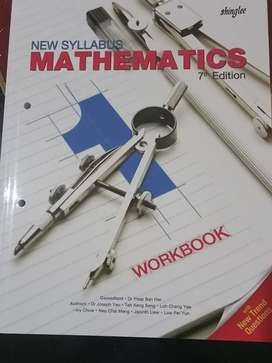 Buku New Syllabus Math 7th Edition 2 Workbook