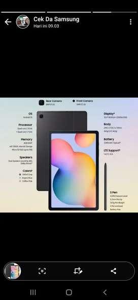 Samsung tab s6 lite ram 4/64