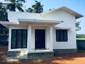 A NEW 2BHK 750SQ FT 4CENTS HOUSE IN KUTTANELLUR,THRISSUR