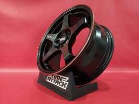 Velg Mobil racing Ring 16 buat Mazda-Brio-Xenia- Nisan March