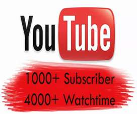 YOUTUBE VIEWS AND SUBSCRIBERS in just 600 rs