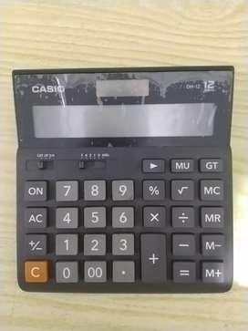 SC11 Kalkulator calculator Casio besar