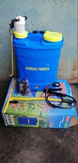 Baru mesin sprayer virus Atomic elektrik & manual 2 fungsi back pack