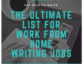 Book writing job