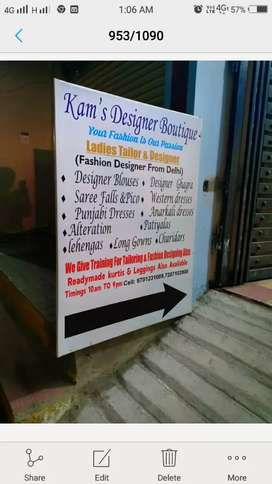 Wanted ladies tailor n master