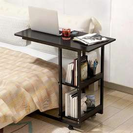 Laptop table Mobile bedside table Bedroom Side desk Modern Side Table