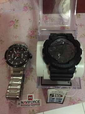 Jam tangan digitec & Naviforce original