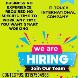 Online advertisement and marketing jobs for interested persons