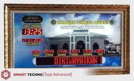 Produsen Jam Waktu Shalat Batam Kota
