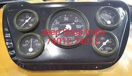 Milometer set for jeeps