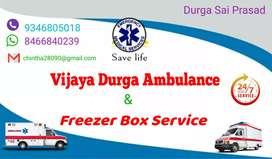 Vijaya Durga ambulance service freezer box service