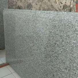 Instalasi top table meja marmer dan granit