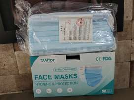 MASKER 3 PLY ISI 50