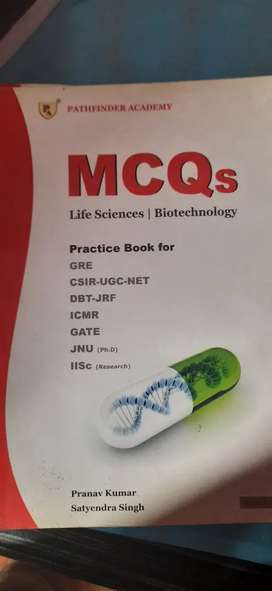 Mcq's for CSIR-UGC-NET