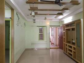 Sale 2bhk flat,930 sft, NF,2nd flr,Nr Manas sarover,hasmathpet, 39 lac