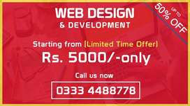 Business Website, Wordpress and eCommerce Website, Domain and Hosting