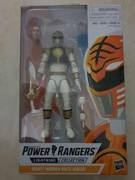 Power Rangers Lightning - White Rangers